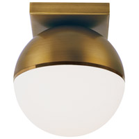 Aged Brass Metal Semi-Flush Mounts