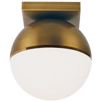 Tech Lighting 700FMAKVRR-LED927 Akova LED 7 inch Aged Brass/Bright Brass Flush Mount Ceiling Light