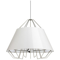 Artic 44 inch Satin Nickel Pendant Ceiling Light, Grande