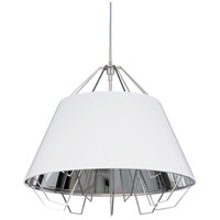 Tech Lighting 700TDATCPWSBSB Artic 22 inch Black Pendant Ceiling Light