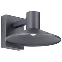 Tech Lighting 700OWASHH93010DHUNVPC Ash LED 10 inch Charcoal Outdoor Wall Light