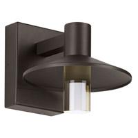 Tech Lighting 700OWASHL9278CZUNVSP Ash LED 8 inch Bronze Outdoor Wall Light