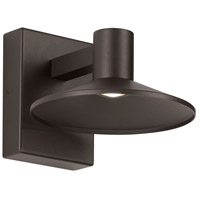 Tech Lighting 700OWASHL9278DZUNVSP Ash LED 8 inch Bronze Outdoor Wall Light
