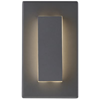 Aspen LED 8 inch Charcoal Outdoor Wall Light
