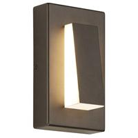 Tech Lighting 700OWASPW9308DZUNVS Aspen Wedge LED 8 inch Antique Bronze Outdoor Wall Light