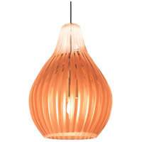 Tech Lighting 700FJAVYOZ Avery 1 Light 4 inch Antique Bronze Low-Voltage Pendant Ceiling Light in Orange FreeJack