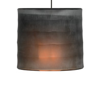 Bali LED 6 inch Chrome Low-Voltage Pendant Ceiling Light in Dark Brown