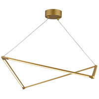 Tech Lighting 700LSBLTG-LED930 Balto LED 36 inch Satin Gold Linear Suspension Ceiling Light