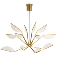 Tech Lighting 700BLT48R-LED930 Belterra LED 48 inch Aged Brass Chandelier Ceiling Light