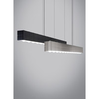 Tech Lighting Biza LED Linear Suspension in Black 3000K 80CRI 700LSBIZAB-LED830