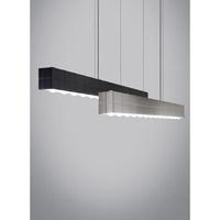 Tech Lighting 700LSBIZABS-LED830 Biza LED 46 inch Satin Nickel Linear Suspension Ceiling Light