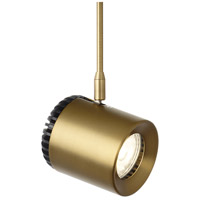 Tech Lighting 700FJBRK8272003R Burk 1 Light 120V Aged Brass MonoRail Head Ceiling Light