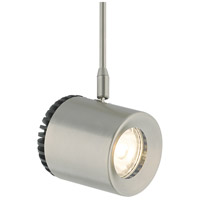 Tech Lighting 700MPBRK8273503AS Burk 1 Light 120V White Ash and Satin Nickel Low-Voltage Head Ceiling Light