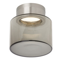 Tech Lighting 700FMCASDKS-LED830 Casen LED Satin Nickel Flush Mount Ceiling Light