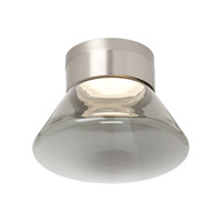 Tech Lighting 700FMCASWKS-LED830 Casen LED 9 inch Satin Nickel Flush Mount Ceiling Light