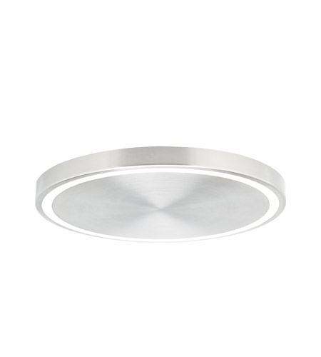 Tech Lighting 700FMCRST17S-LED930 Crest LED 17 inch Satin Nickel Flushmount Ceiling Light