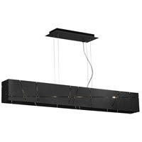 Tech Lighting 700LSCRSS Crossroads 4 Light 46 inch Steel Linear Suspension Ceiling Light in Halogen