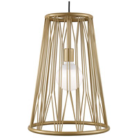 Tech Lighting Gold Steel Pendants