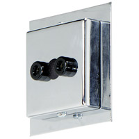 Display Lighting Chrome Canopy