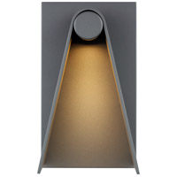 Tech Lighting 700OWEPA10H-LED930 Elpha LED 10 inch Charcoal Outdoor Wall Sconce