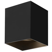 Exo LED 5 inch Matte Black Flushmount Ceiling Light