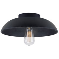 Fett 1 Light 13 inch Weathered Zinc Semi Flush Ceiling Light
