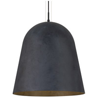 Fett LED 18 inch Weathered Zinc Pendant Ceiling Light