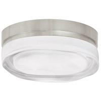 Tech Lighting 700FMFLDRSS Fluid 1 Light 6 inch Satin Nickel Ceiling Ceiling Light