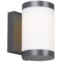 Tech Lighting 700OWGAG8308DHUNVS Gage LED 9 inch Charcoal Outdoor Wall Light