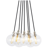 Gambit LED 14 inch Satin Nickel Chandelier Ceiling Light