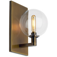 Gambit LED 6 inch Aged Brass Wall Sconce Wall Light
