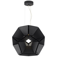 Hex LED 36 inch Suspension Ceiling Light in Black, 277V