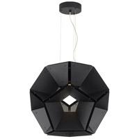 Tech Lighting 700HEX24BB-LED930 Hex LED 24 inch Suspension Ceiling Light in Black 120V