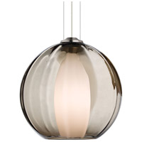 Inner World 1 Light Satin Nickel Line-Voltage Pendant Ceiling Light