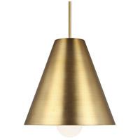 Tech Lighting 700TDJNIR-LED930 Joni LED 17 inch Aged Brass Line-Voltage Pendant Ceiling Light