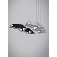 Jorn LED 55 inch Black Linear Suspension Ceiling Light
