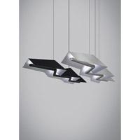 Tech Lighting 700LSJORNS-LED Jorn LED 55 inch Satin Nickel Linear Suspension Ceiling Light