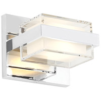 Kamden LED 4 inch Chrome Wall Light in 277V