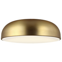 Tech Lighting 700FMKOSA13R-LED930 Kosa LED 13 inch Aged Brass Flush Mount Ceiling Light