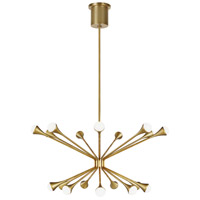 Tech Lighting 700LDY18R-LED930 Lody LED 31 inch Aged Brass Chandelier Ceiling Light