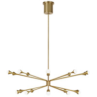 Tech Lighting 700LDY20R-LED930 Lody LED 48 inch Aged Brass Chandelier Ceiling Light