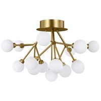 Tech Lighting 700FMMRAR-LED927 Mara LED 25 inch Aged Brass Flush Mount Ceiling Light