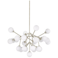 Mara LED 29 inch Satin Nickel Chandelier Ceiling Light