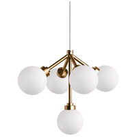 Tech Lighting 700MO2MRAWR-LED927 Mara LED 12 inch Aged Brass Pendant Ceiling Light