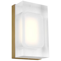 Tech Lighting 700WSMLY7R-LED930 Milley LED 3 inch Aged Brass ADA Wall Sconce Wall Light