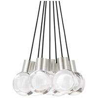 Tech Lighting 700TDMINAP7CBS-LED922 Mina LED 5 inch Satin Nickel Pendant Ceiling Light
