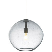 Mini Isla 1 Light 7 inch Satin Nickel Pendant Ceiling Light