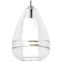 Ella LED 5 inch Satin Nickel Mini Pendant Ceiling Light