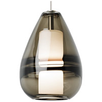Ella LED 1 inch Satin Nickel Mini Pendant Ceiling Light