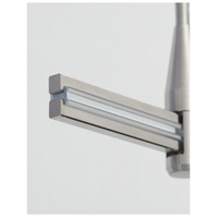 MonoRail Satin Nickel Rail End Caps Ceiling Light